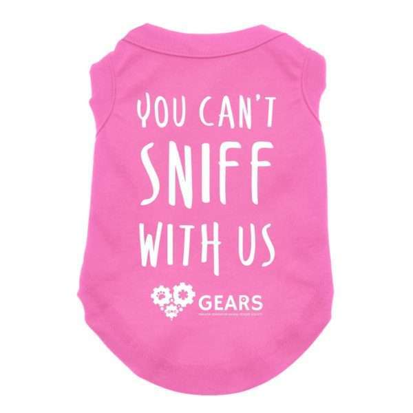 You Can't Sniff With Us Dog Shirt. Dog Clothing. Dog Apparel. Dog Hoodie
